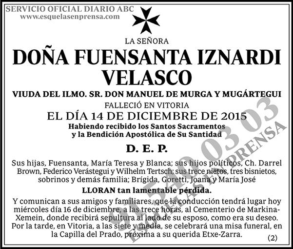 Fuensant Iznardi Velasco